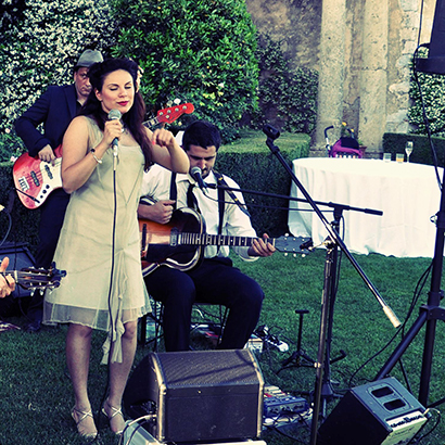 Vintage Wedding in Tuscany