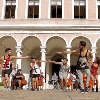 Flashmob Wedding in Venice